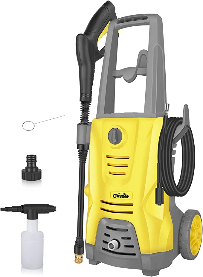Oasser Electric Pressure Washer Car Power Washer - Portable and Easy to Use