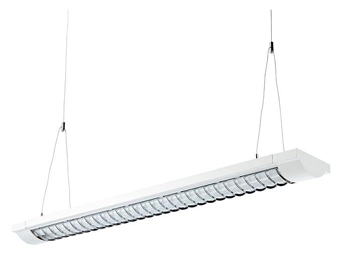 Alco 9065 - Lámpara de techo, aluminio, color blanco, 125 x ...
