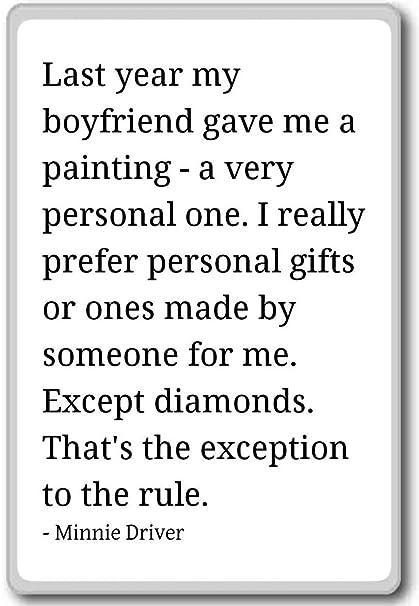 Amazon.com: Last year my boyfriend gave me a painting - a ...