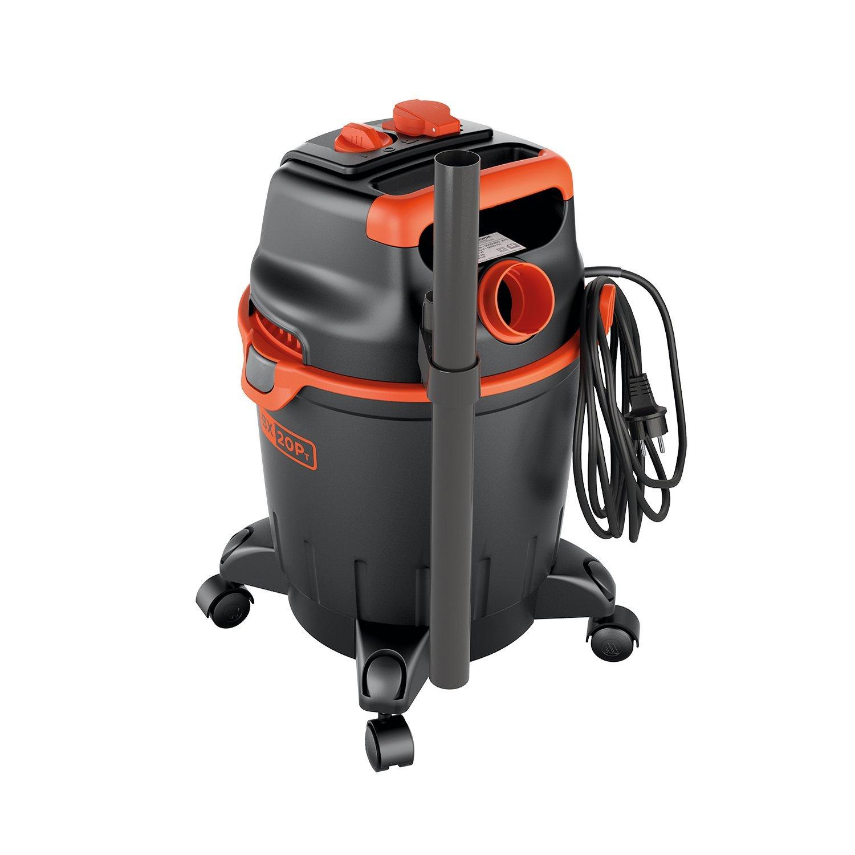 Black+Decker BXVC20PTE Aspirador multiuso de sólidos y líquidos (1200 W, 20 l) con toma para herramientas eléctricas integrada