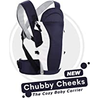 R for Rabbit Chubby Cheeks (New) - The Cozy Baby Carrier for 6-24 Months Baby (Midnight Black)