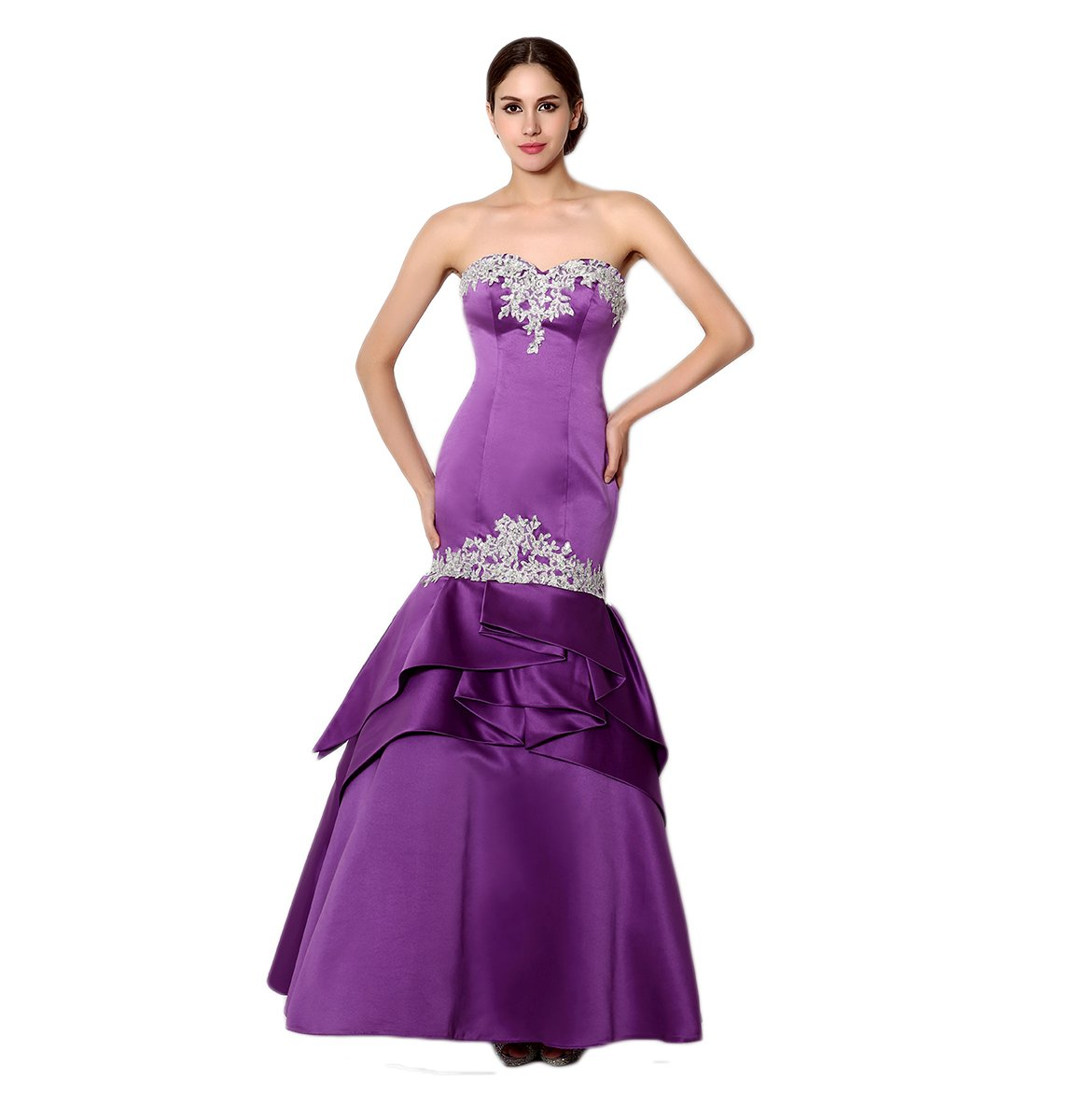 Love Dress Applique Mermaid Prom Dress Evening Dress Us 16 by Love To Dress (Image #1)