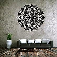 Wall Decor Mandala Decal Vinyl Sticker Home Mural Bedroom Yoga Studio Decoration