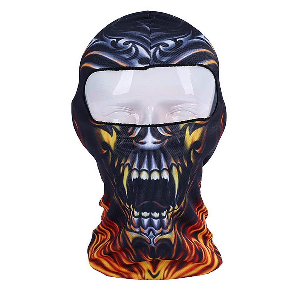 Gafas Unisex BMX Balaclava Ski Mask Máscara a prueba de ...