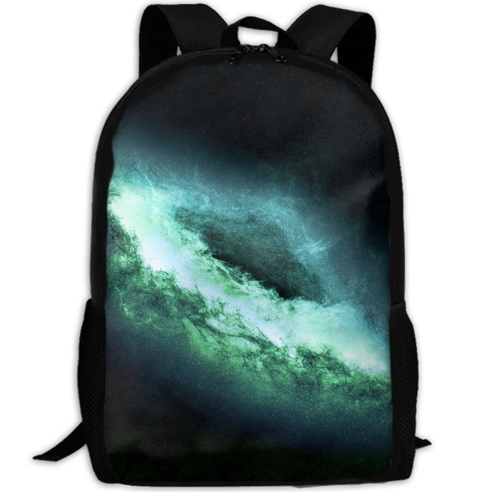 Space Galaxy Clouds Double Shoulder Backpacks For Adults Traveling Bags Full Print Fashion