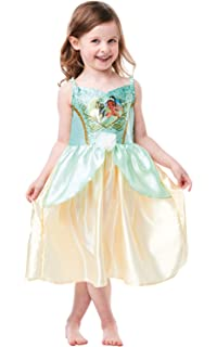 bambini. RUBIE/'S 640825M Ufficiale Disney Principessa Paillettes Tiana Classic Costume