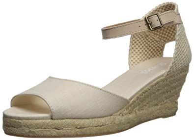 43f7e7803dd Soludos Women's Open-Toe midwedge (70mm) Espadrille Wedge Sandal