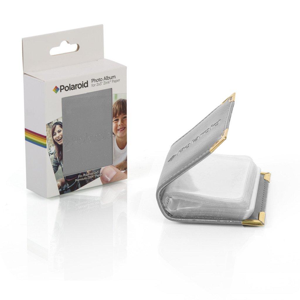 Kodak Smile SUNMN 2x3 Inches Photo Album Compatible for Polaroid Mint Pocket Canon Ivy Instant Printer Films HP Sprocket Photo Printer Brown Snap PRINTOMATIC Zip
