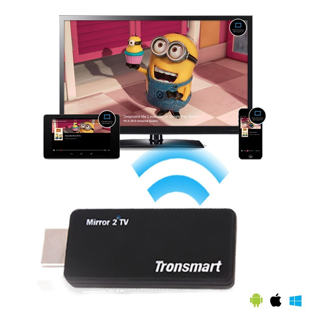 LG G Stylo Smartphone EZCast v2.0 Miracast/DLNA HDMI Adapter for Mirroring/Streaming Connections up to 300Mbps!