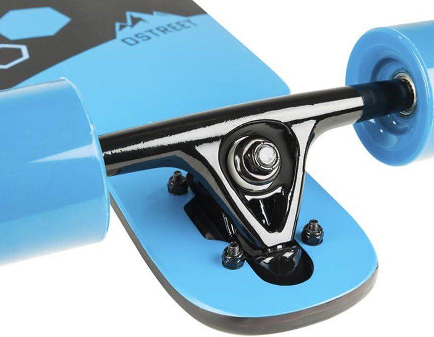 D Street Hex//Tri Drop Through Longboard Skating Jungen Herren Damen Sport Boards