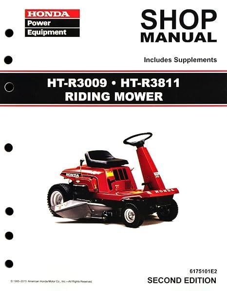 amazon com honda ht r3009 ht r3811 htr3009 htr3811 riding mower rh amazon com Honda HRC216HXA Commercial Lawn Mower Honda HRC216HXA Commercial Lawn Mower