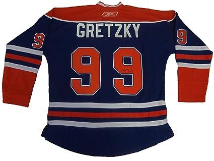 check out ec420 719d9 Wayne Gretzky Autographed Edmonton Oilers Jersey W/PROOF ...