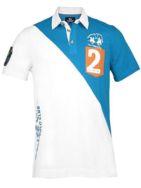 La Martina Hombre Diseñador Polo Shirt Camisetas - BELIZA City ...