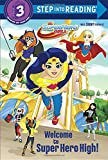 download ebook welcome to super hero high! (dc super hero girls) (step into reading) pdf epub
