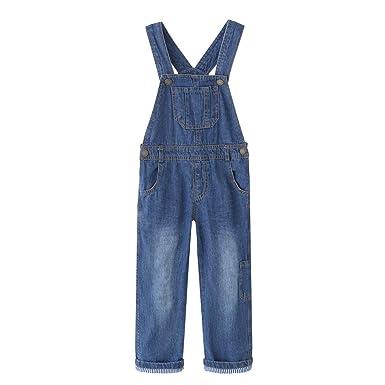Vielzahl von Designs und Farben neue sorten akzeptabler Preis Grandwish Kinder Jungen Jeans Latzhose für Mädchen Gr.86-Gr.140