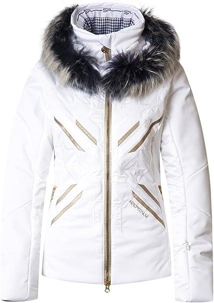Sportalm Veste de ski pour femme Blanc 46: