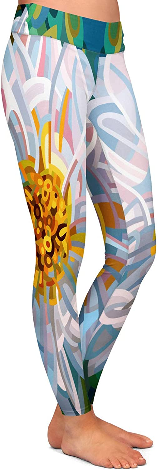 Athletic Yoga Leggings from DiaNoche Designs by Mandy Budan Solitaire