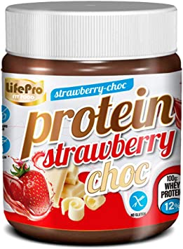 Life Pro Fit Food Protein Cream Strawberry Chocolate   12 ...
