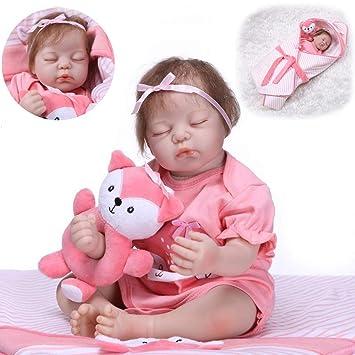 Amazon.com: Muñeca realista para bebé Lucoo Reborn con ...