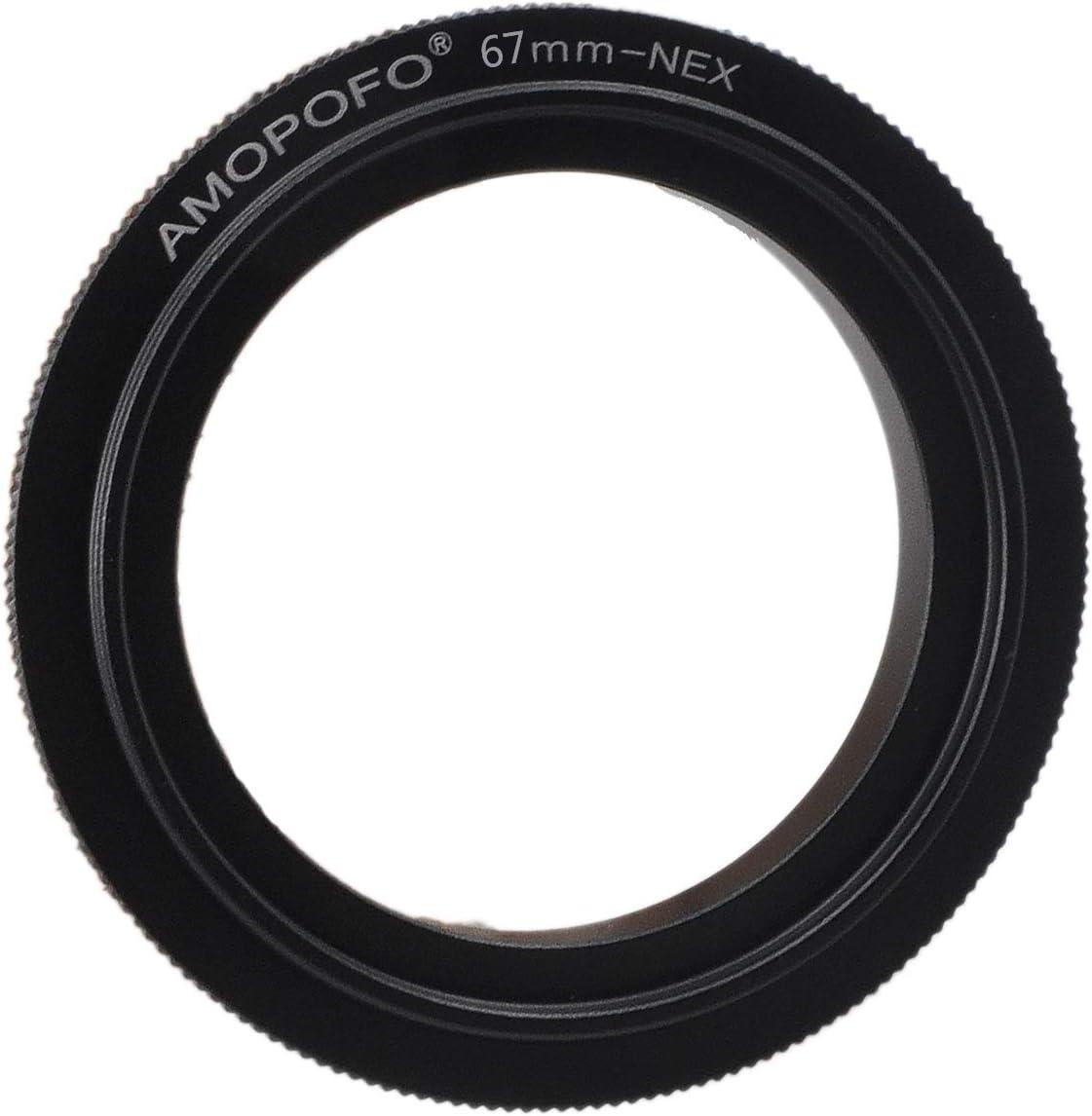 67mm Macro Reverse Adapter Ring for Sony NEX E Mount Digital SLR Body
