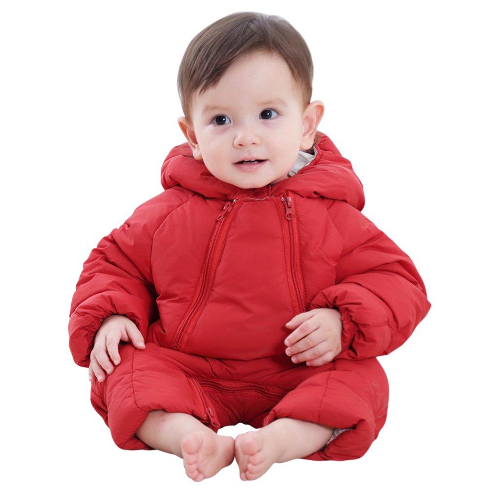 Tortor 1Bacha Infant Baby Girl Boy Winter Puffer Snowsuit Pram Bunting 1777