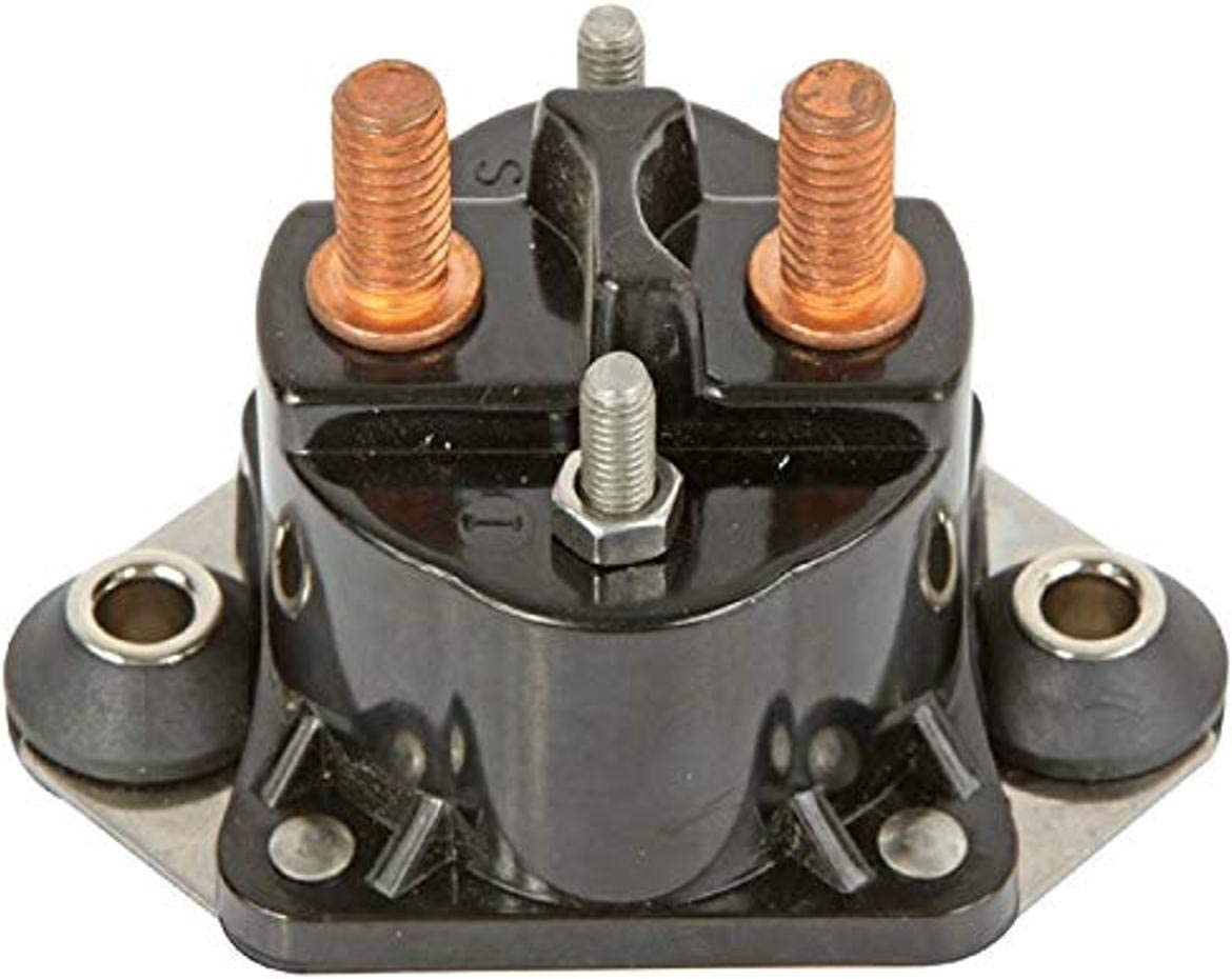 DB Electrical SMR6010 New Solenoid for Mercury Marine 12 Volt 4-Terminal Isolated Base /89-817109A1 89-817109A2 89-817109A3