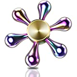 ATESSON Fidget Spinner Toy Ultra Durable Stainless Steel Bearing High Speed Spins Precision Metal Hand spinner EDC ADHD Focus Anxiety Stress Relief Boredom Killing Time Toys