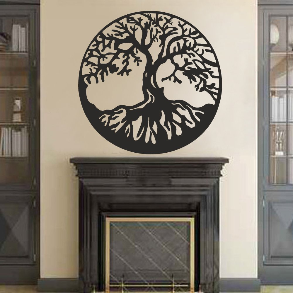 Amazon.com: BATTOO Tree Of Life Vinyl Wall Decal Sticker   Celtic Tree Life  Wall D¨¦cor Culture Symbol Office Living Room Yoga Studio Wall  Decoration(32 Nice Design