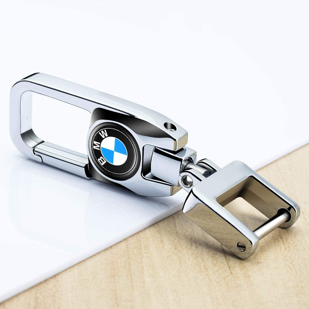 HEY KAULOR Car Logo Key Chain Key Ring for BMW X1 X3 M3 M5 X1 X5 X6 Z4 3 5 7SeriesBusiness Gift Birthday Present for Men and Woman Pack of 2