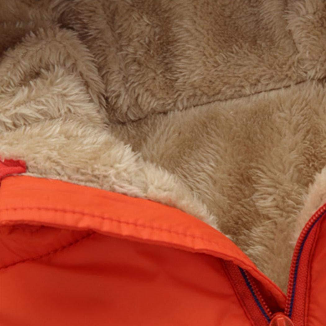 Suidone Enfants gar/çons Filles Solide Hiver /épaissir Warm Down Coton Outwear Manteaux