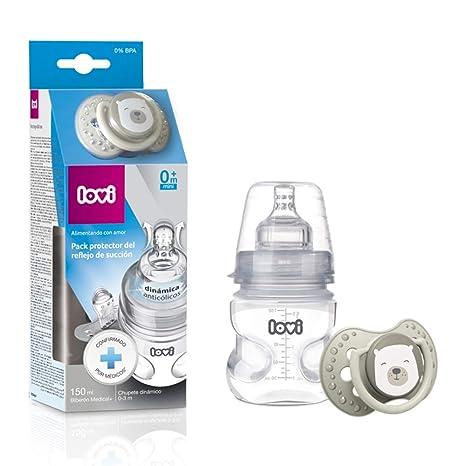 LOVI Pack protector del reflejo de succión LOVI: biberón ...