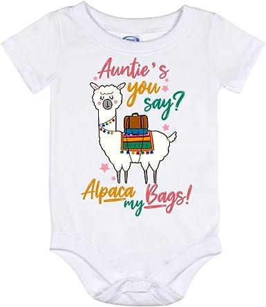 Cute Baby Onesie\u00ae Fun Baby Onesie\u00ae Alpaca A Bag Cute Baby Clothes Baby Onesie\u00ae Funny Fun Baby Clothes Funny Baby Onesie\u00ae