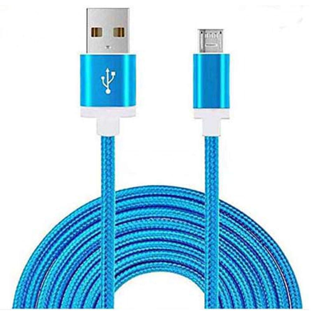 Blue Color Braided USB Cable for Android