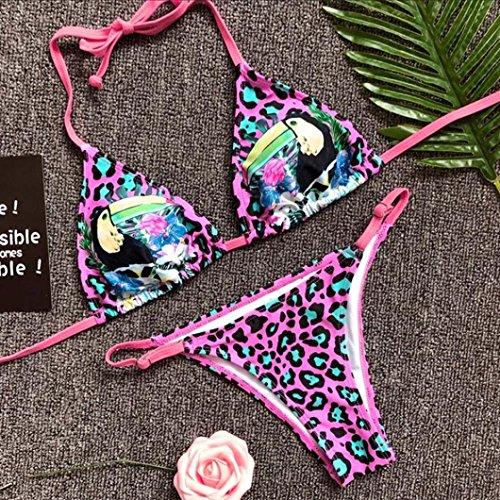 Costumi Donna Mare Due Pezzi, DoraMe Costumi Da Bagno Halter Mare Donne Costume Brasiliana Costumi Da Bagno Push Up Piscina Sportivi Bikini Donna Beachwear