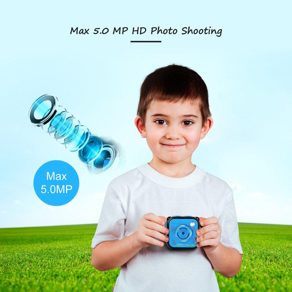 GAKOV GACD WiFi 1080P 2MP Underwater Kids Camera 20m Waterproof Sports Camera for Kids by GAKOV (Image #12)