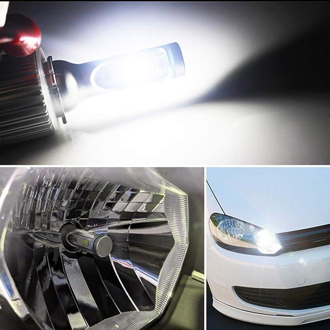 2X H15 Blanc Canbus Sans Erreur High Beam DRL Ampoules Phare Audi VW Mercedes