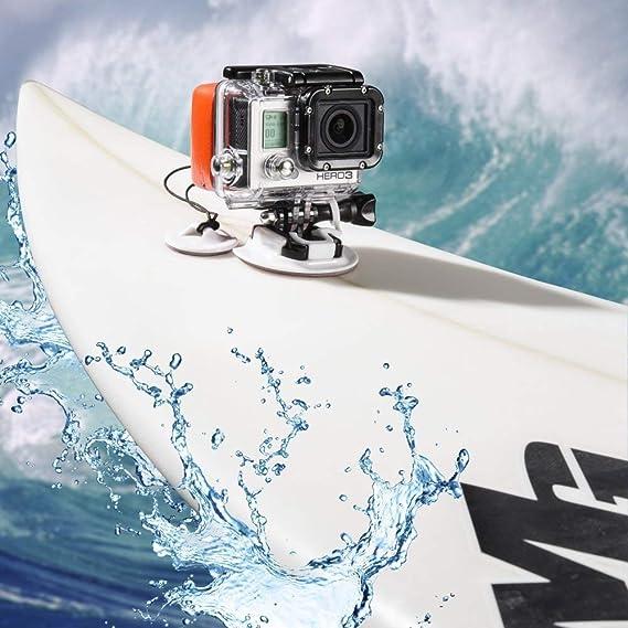 1X 8 en 1 Kit de Montaje Tabla De Surf Tabla de Surf para Gopro Hero 3+ 3 2 1 Cámara M5X4