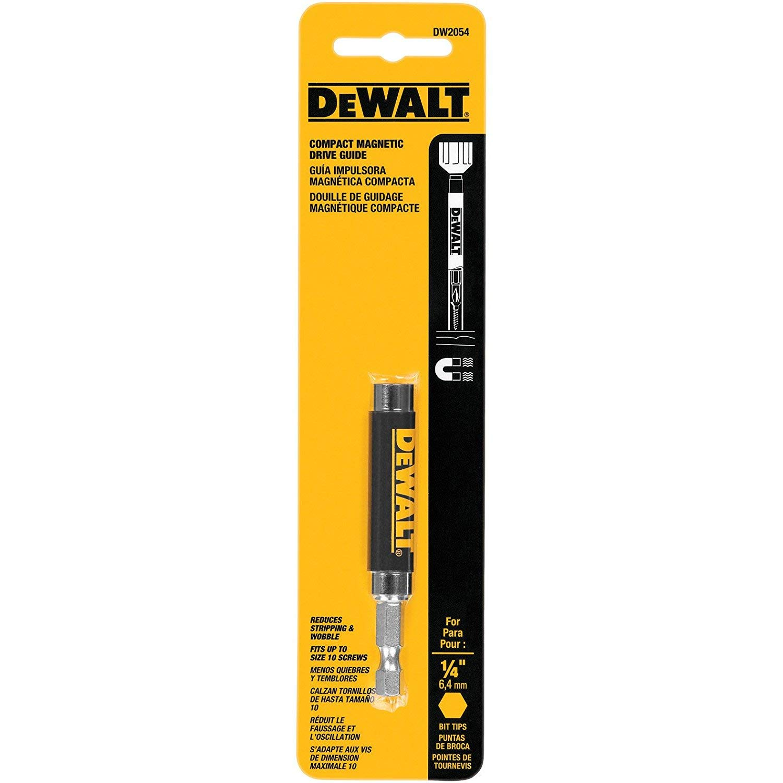 DEWALT DW2054 1/4-Inch Compact Magnetic Drive Guide (3 PACK) by DEWALT