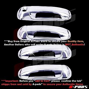Sizver Chrome Door Handle cover For 2002-2008 Dodge Ram 1500