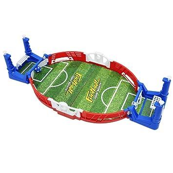 Homyl Juego De Mesa De Futbol De Simulacion En Miniatura Futbolin