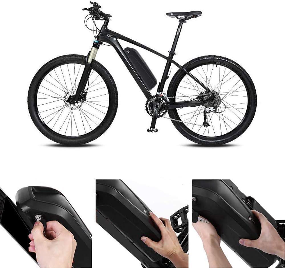 X-go 52V 14Ah Batería para Bicicleta de Iones de Litio con Cargador, Pantalla de energía, Placa de protección BMS para Motor de Bicicleta 1000W/ 750W/ 500W: Amazon.es: Deportes y aire libre