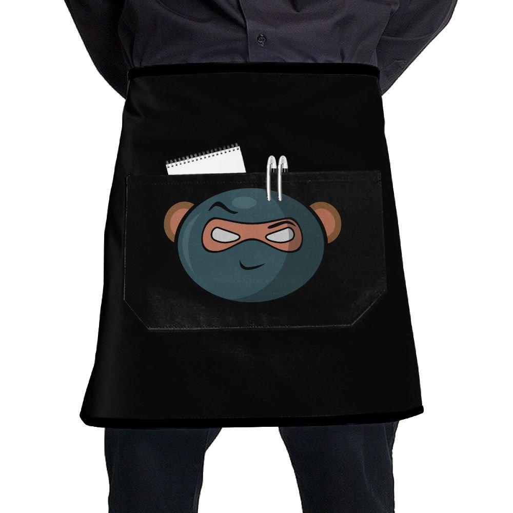 Amazon.com: Kitchen/restaurant/Coffee Shop Monkey Ninja Half ...