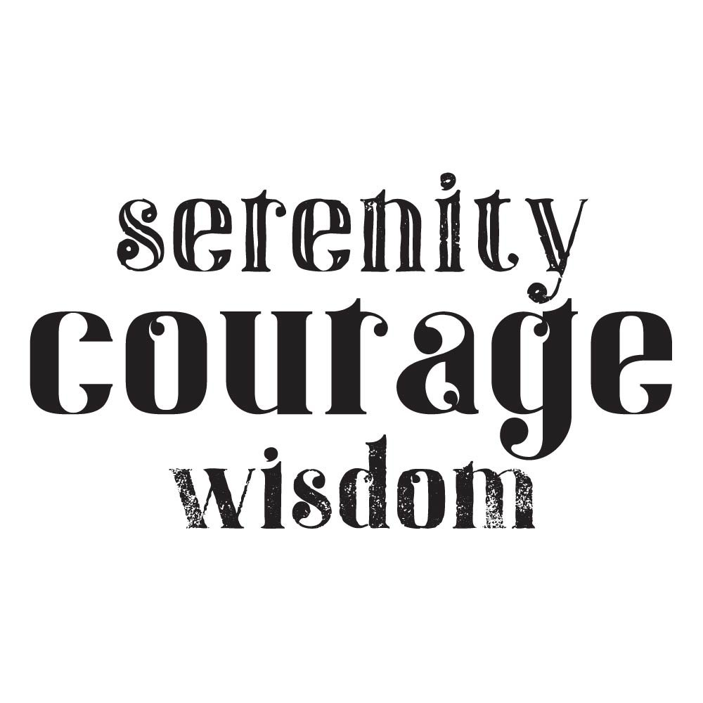 Amazon Alcoholics Anonymousserenity Courage Wisdom Temporary