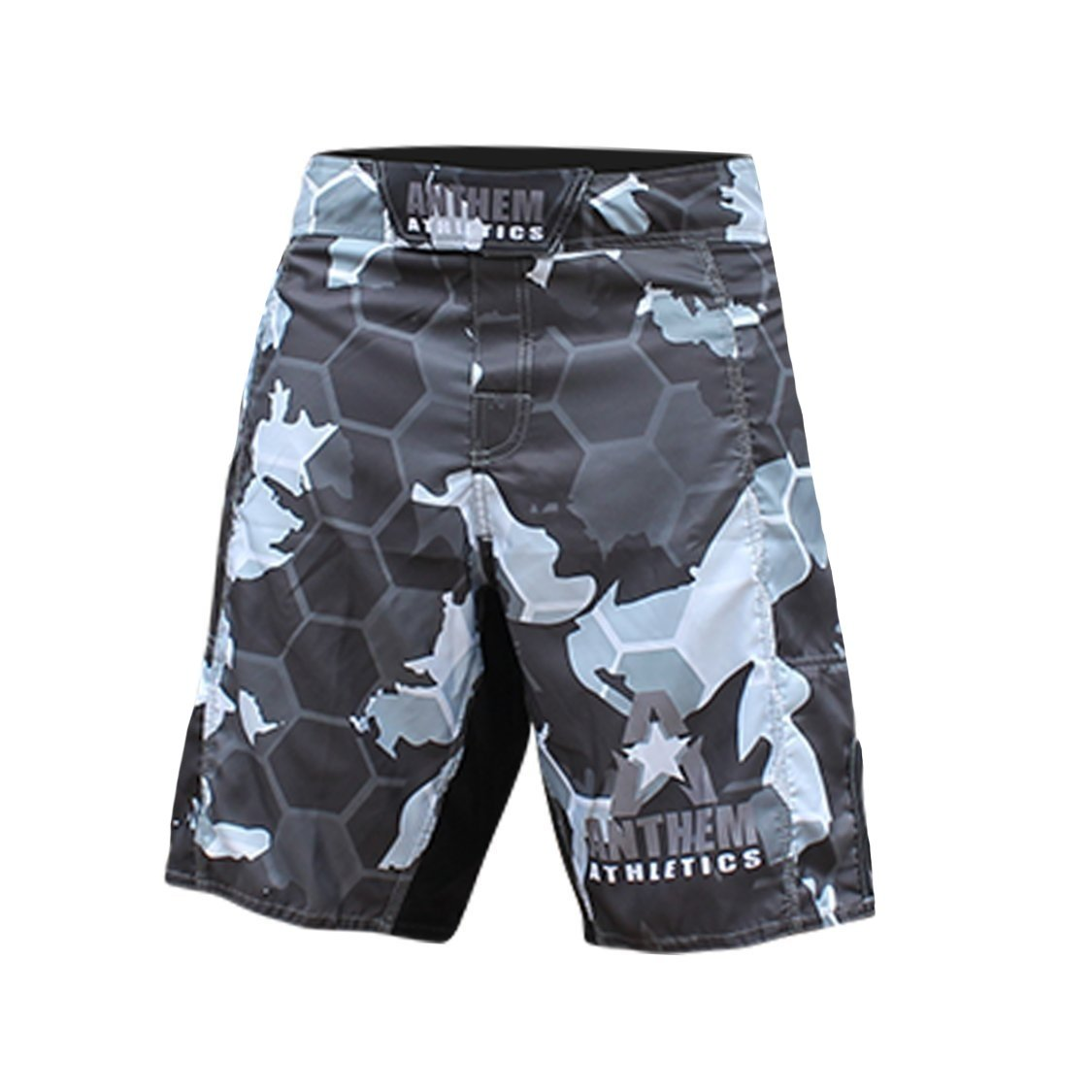Anthem Athletics RESILIENCE MMA Shorts - Snow Camo Hex - 35'' by Anthem Athletics
