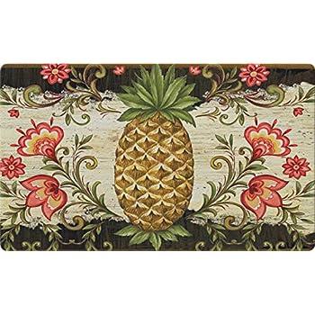 Amazon Com Premium Comfort Pineapple Coast Kitchen Mat