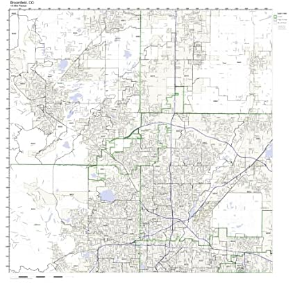 Amazon.com: Broomfield, CO ZIP Code Map Not Laminated: Home & Kitchen