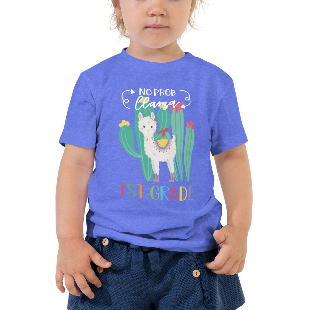 Cute No Prob Llama 1ST Grade First Day of School T-Shirt