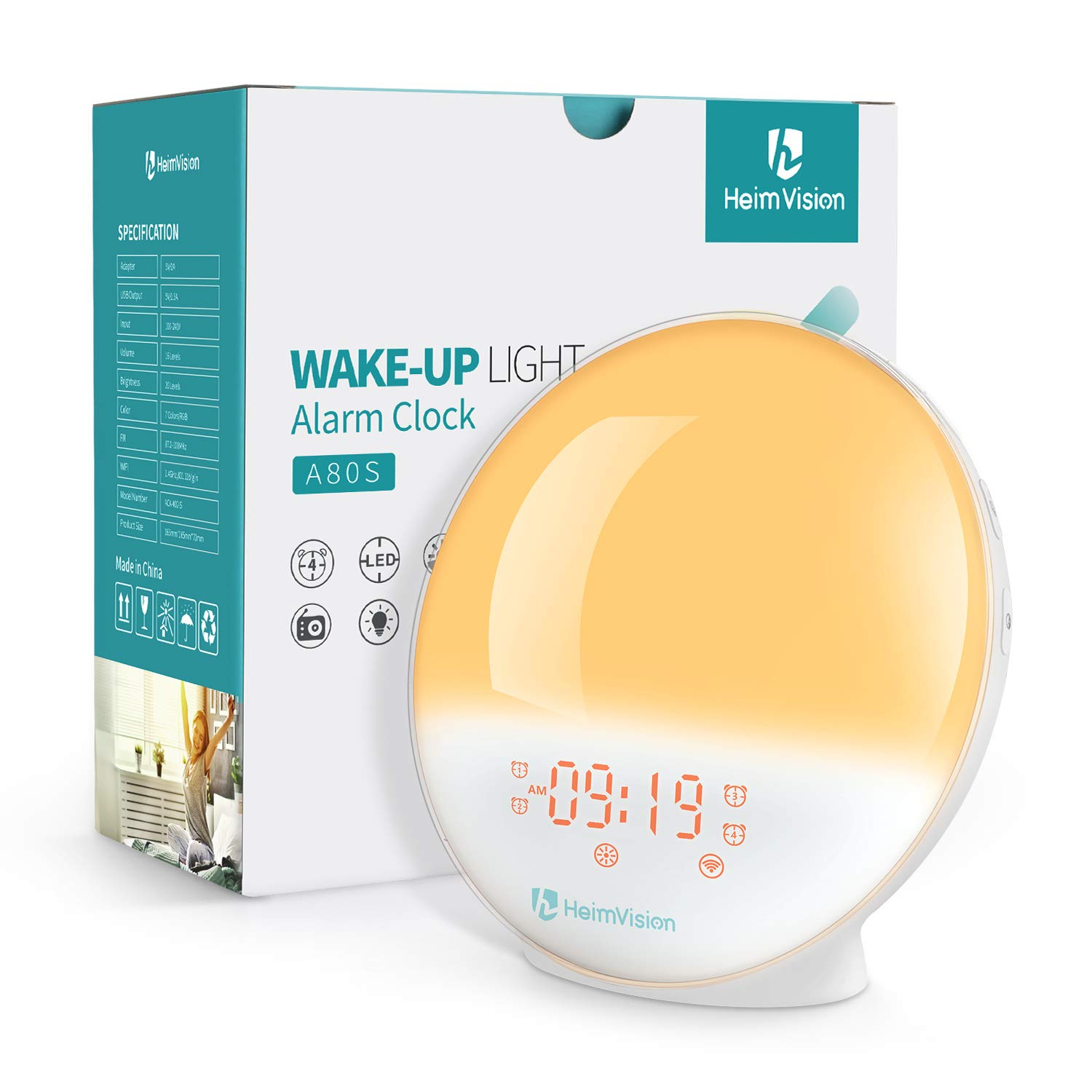 HeimVision Sunrise Smart Alarm...