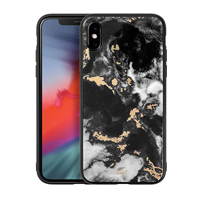 new product 75515 169b3 Amazon.com: LAUT - Mineral Glass for iPhone Xs/iPhone X | 9H Super ...