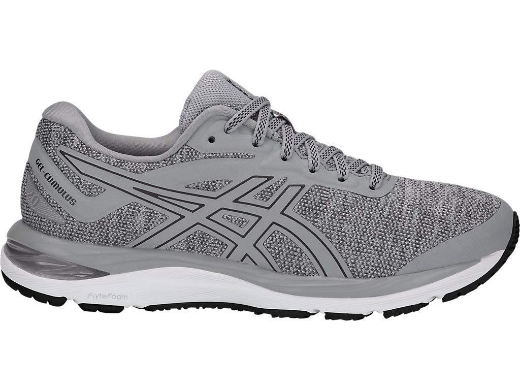 ASICS Women's Gel-Cumulus 20 MX Running Shoes, 5M, Stone Grey/Black